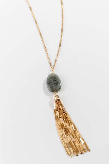 Linda Stone Tassel Necklace