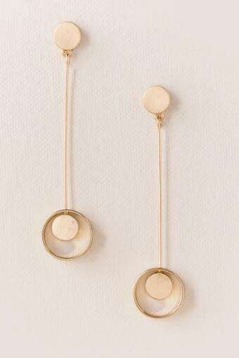 Tanna Circle in Hoop Stick Earring