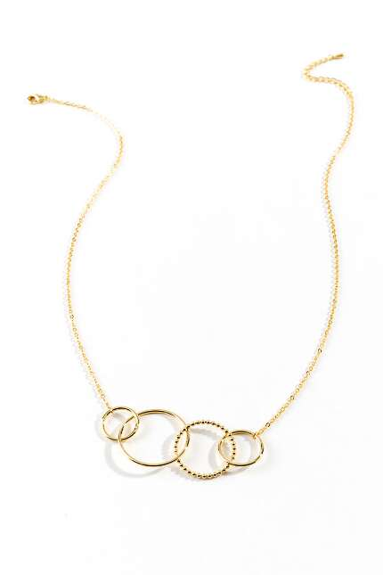 Melina Circle Statement Necklace