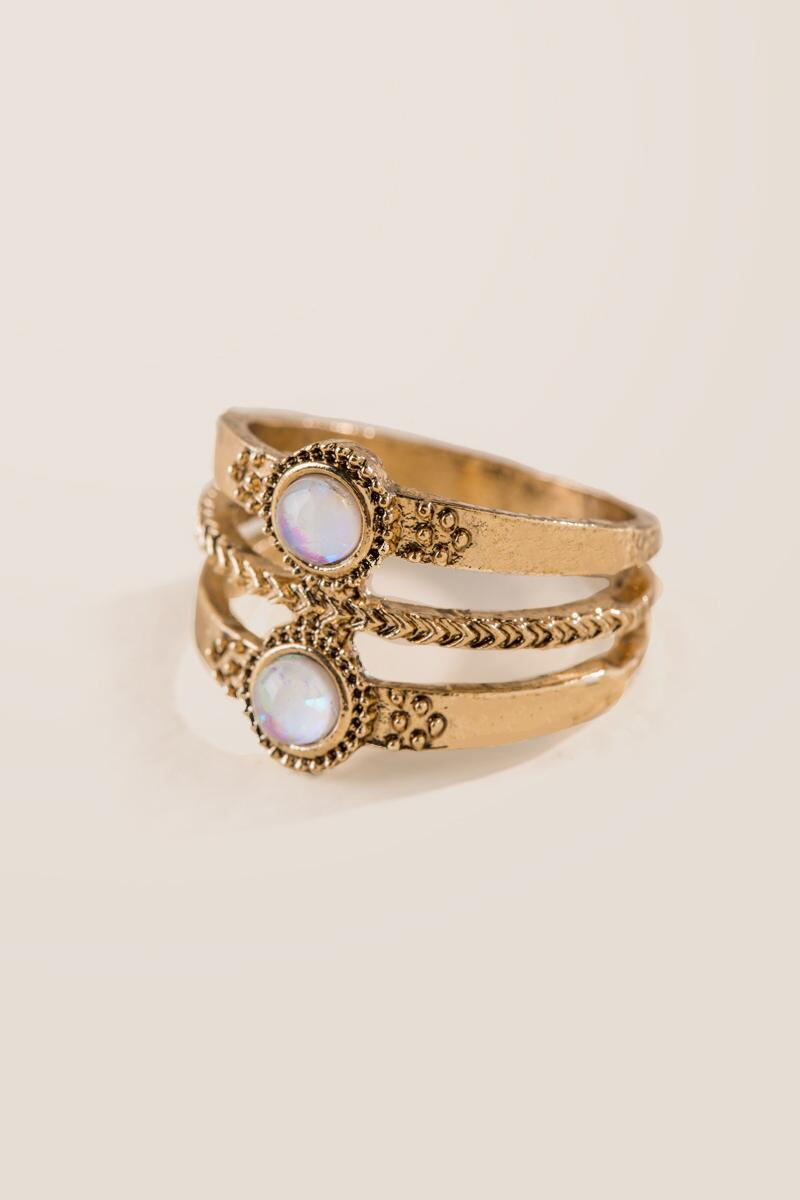 Heather Opal Antique Ring-  gold-clalternate