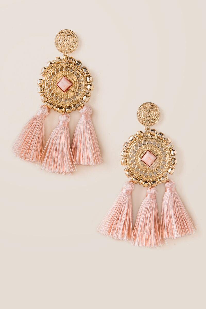 Parker Statement Tassel Earrings