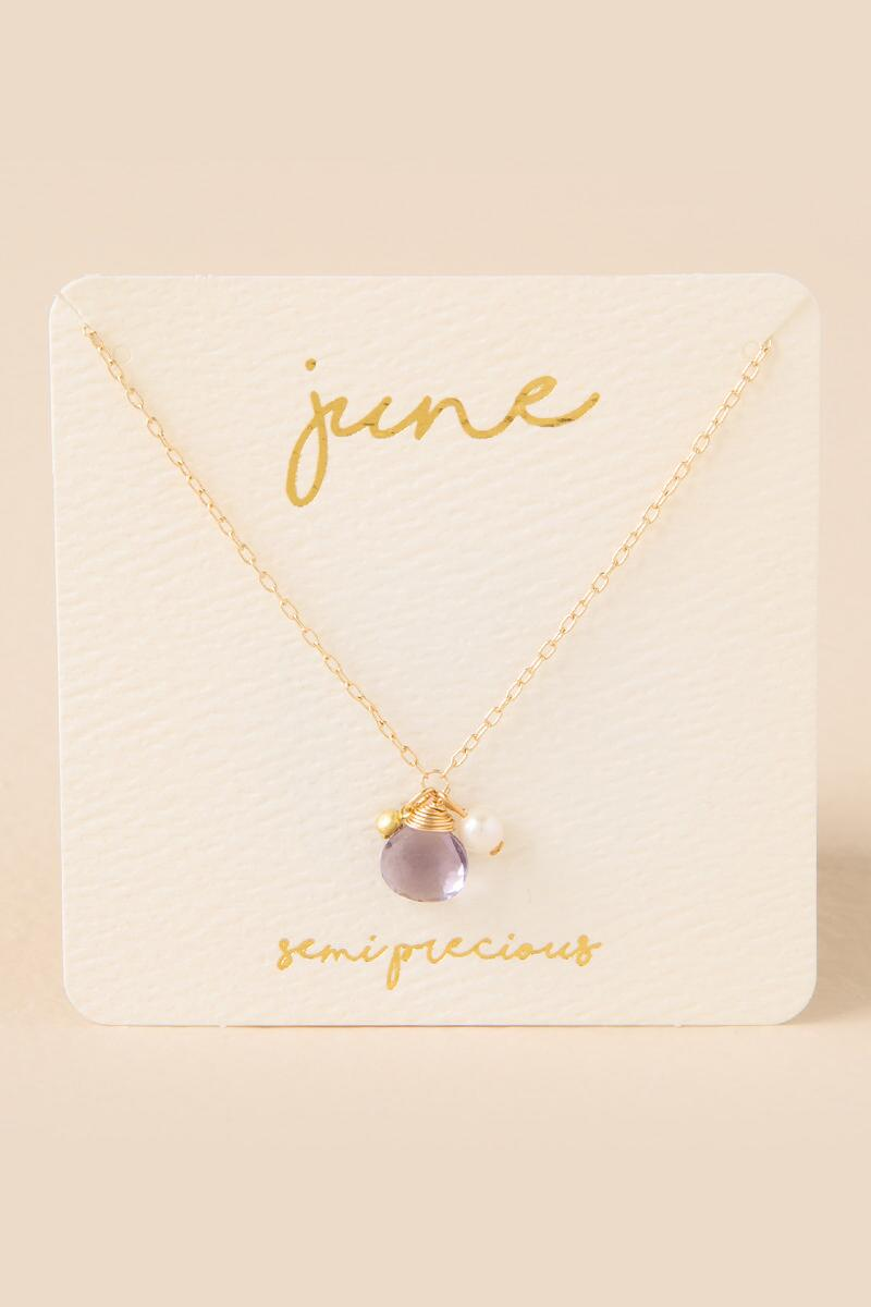 products silver amethyst plated pendant emerald necklace copy birthstone of june coloured may crystal