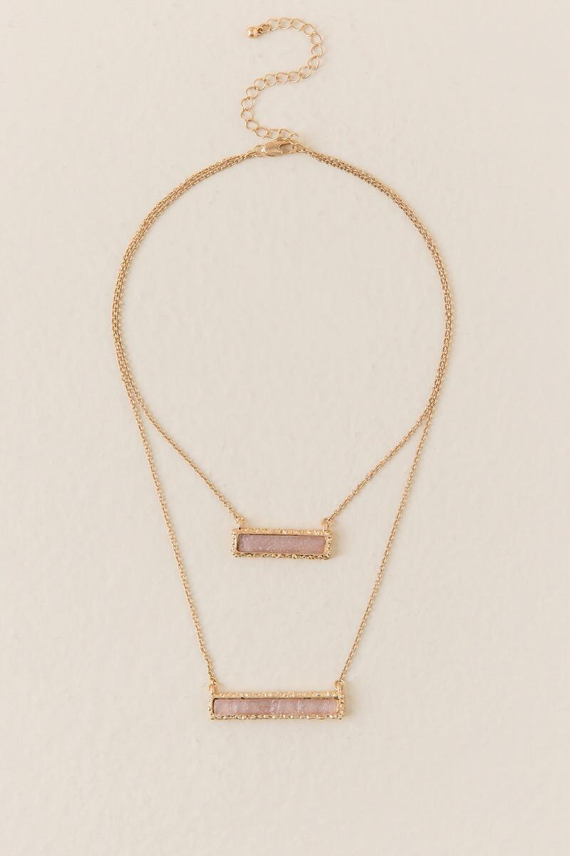 Maddie Druzy Bar Necklace