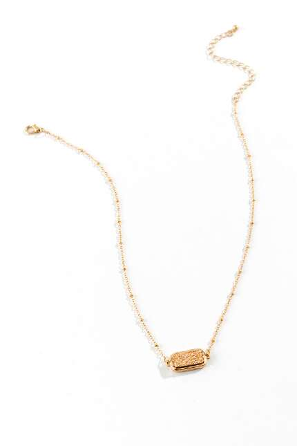 Eloise Druzy Bar Necklace