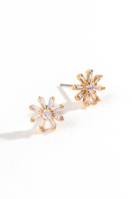 Nancy Flower Starburst Studs