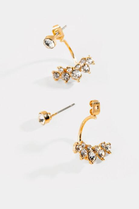 Martha Crystal Row Ear Jackets