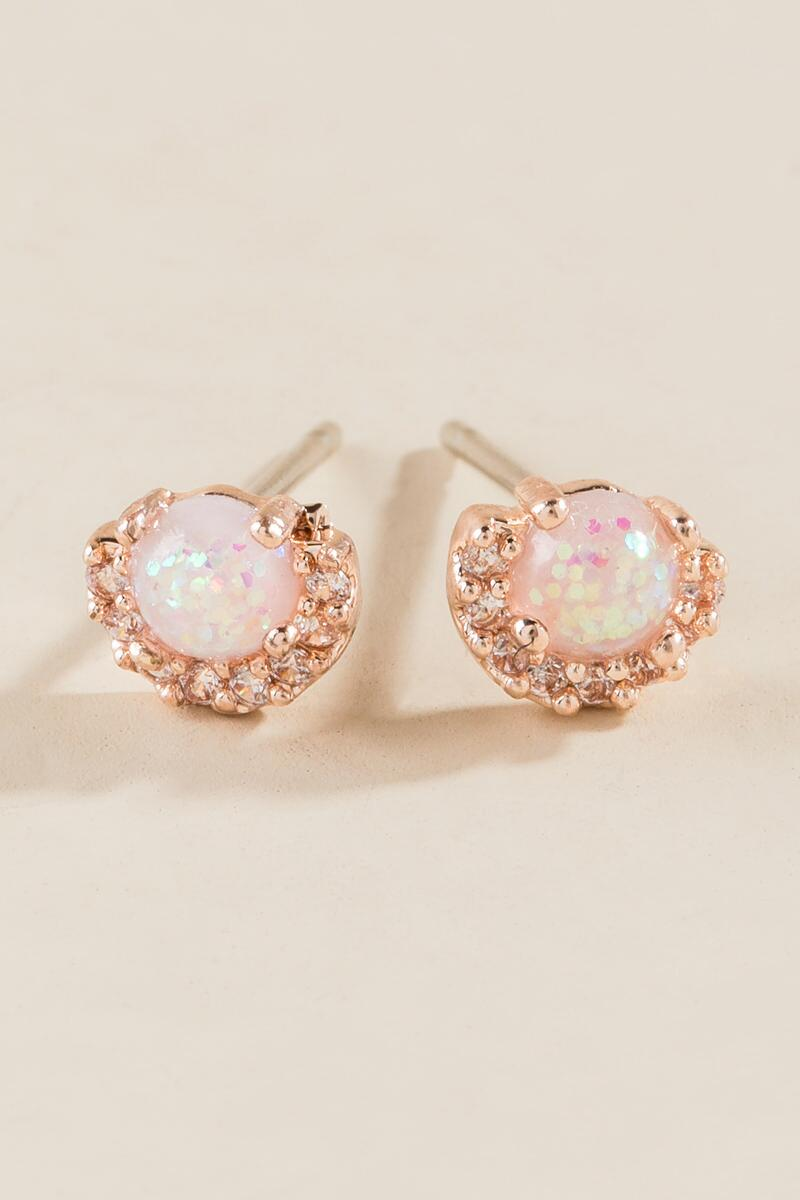 Angelica Opal Studs