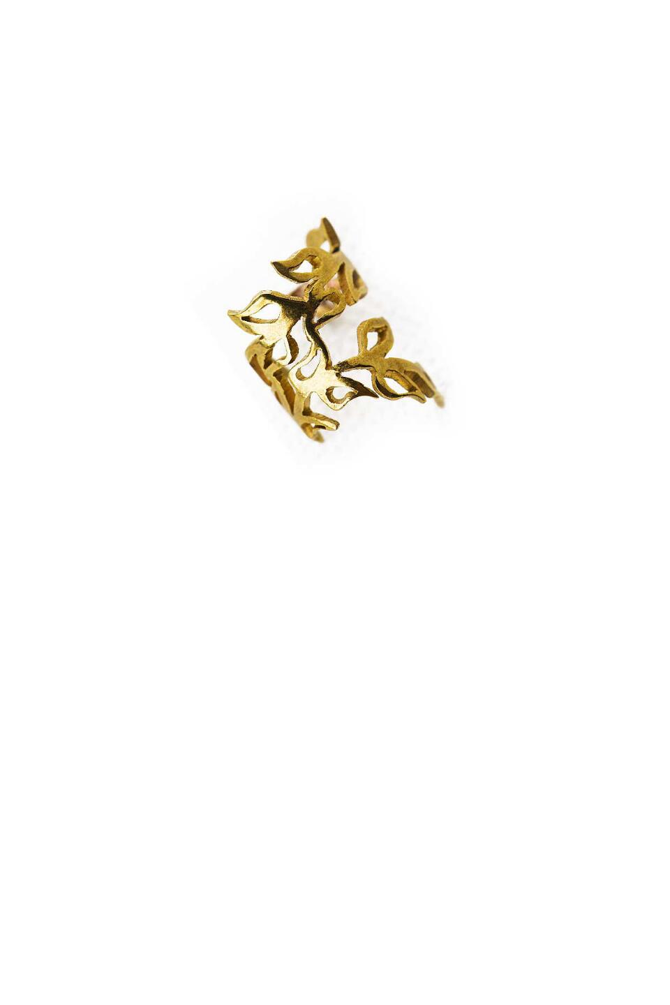 Athens Ear Cuff-  gold-cl