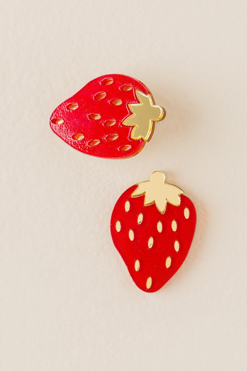 accessories aliexpress punk fashion stud night strawberry fruit on club red from women jewelry earrings acrylic com in item