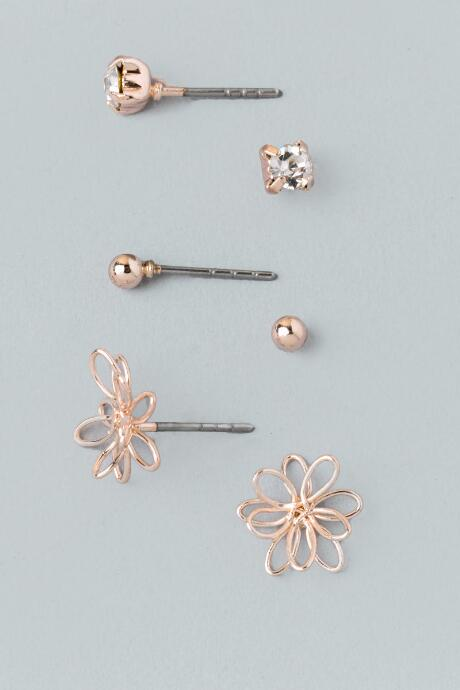 Tilly Flower Stud Set