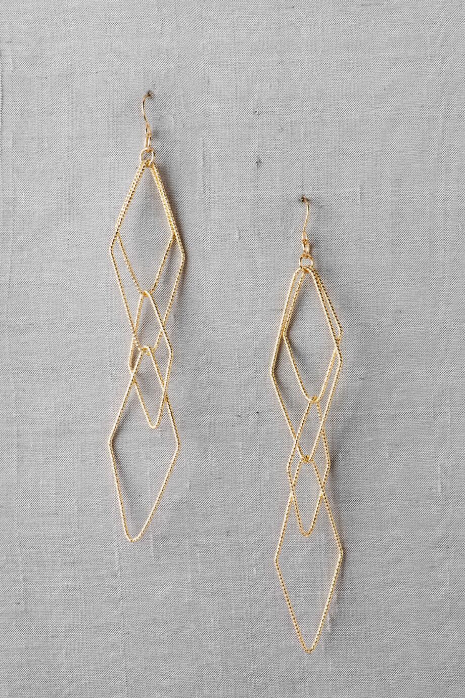 Berlin Geometric Drop Earrings