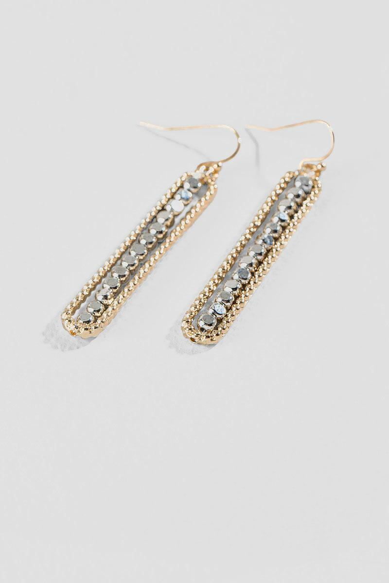 Cane Drop Earrings