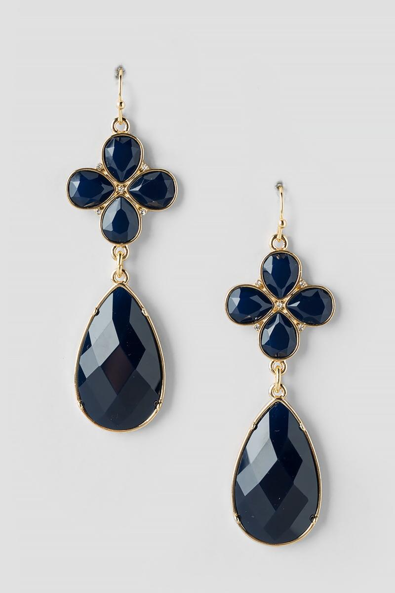 Jalessa Tear Drop Chandelier Earrings