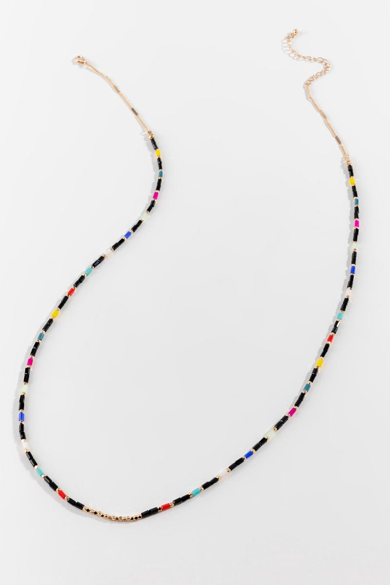 Lucille Beaded Necklace- Multi 3