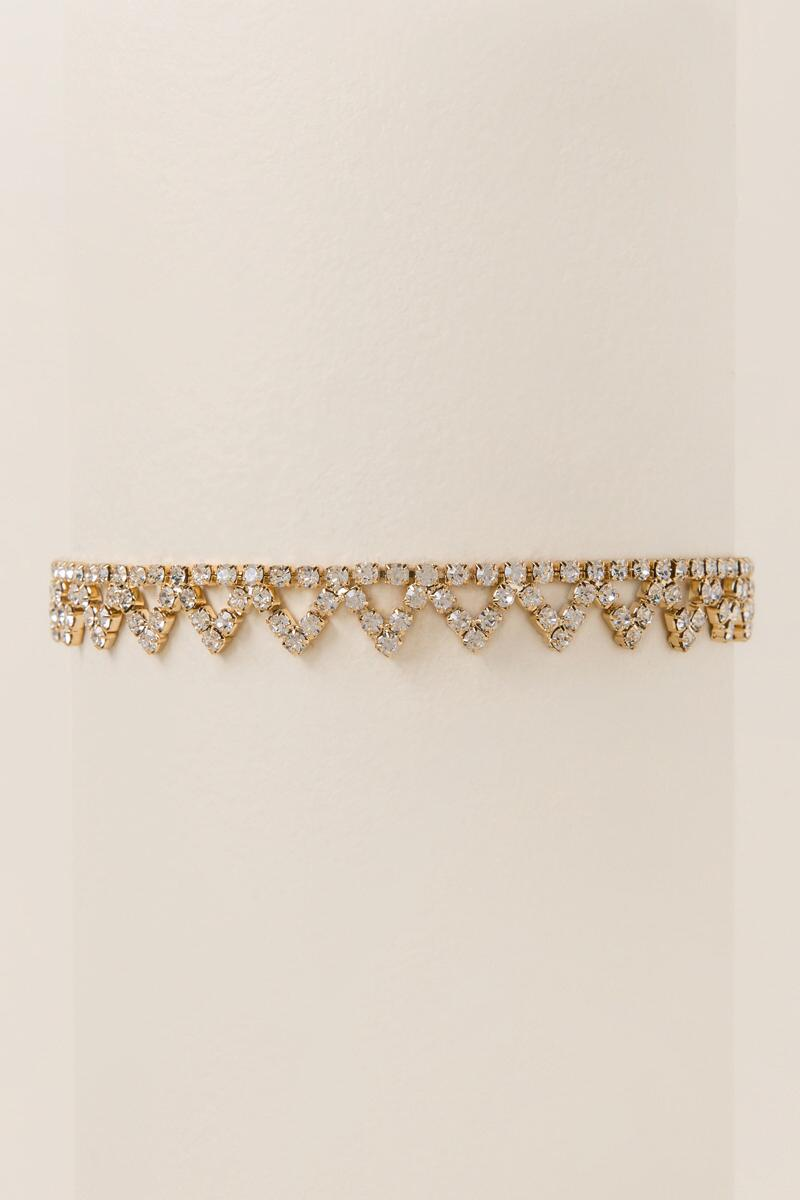 Adaline Crystal Choker-  cry-cl