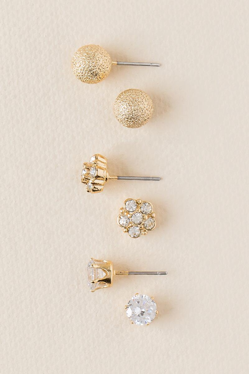 Milly Stud Earring Set-  cry-cl