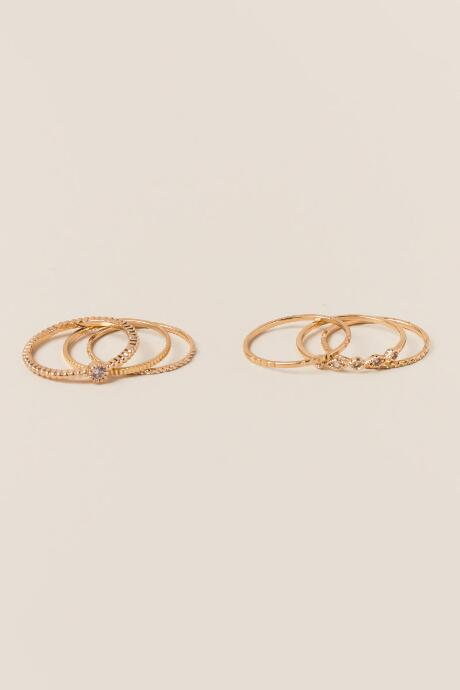 Jemima Cubic Zirconia Ring Set