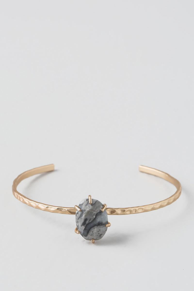 Ditra Oval Topped Bangle