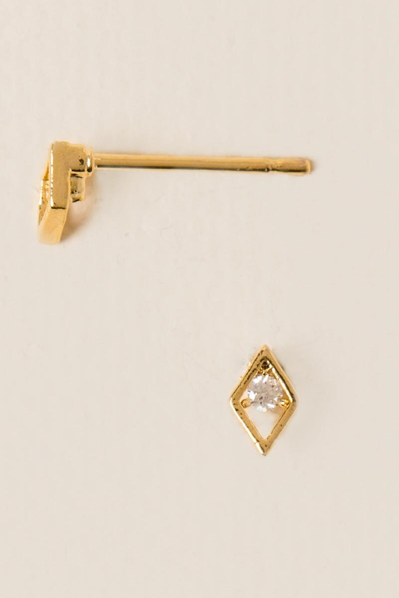 Alisa Open Diamond Studs