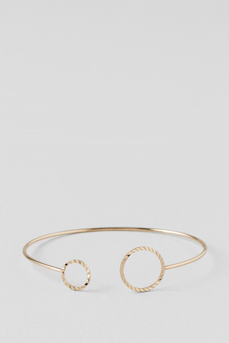 Devon Open Circle Bracelet-  gold-cl
