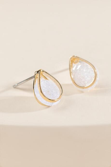 Daphne Tear Drop Studs