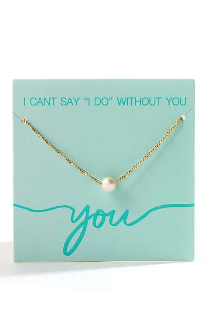 Can't Say I Do Without You Necklace