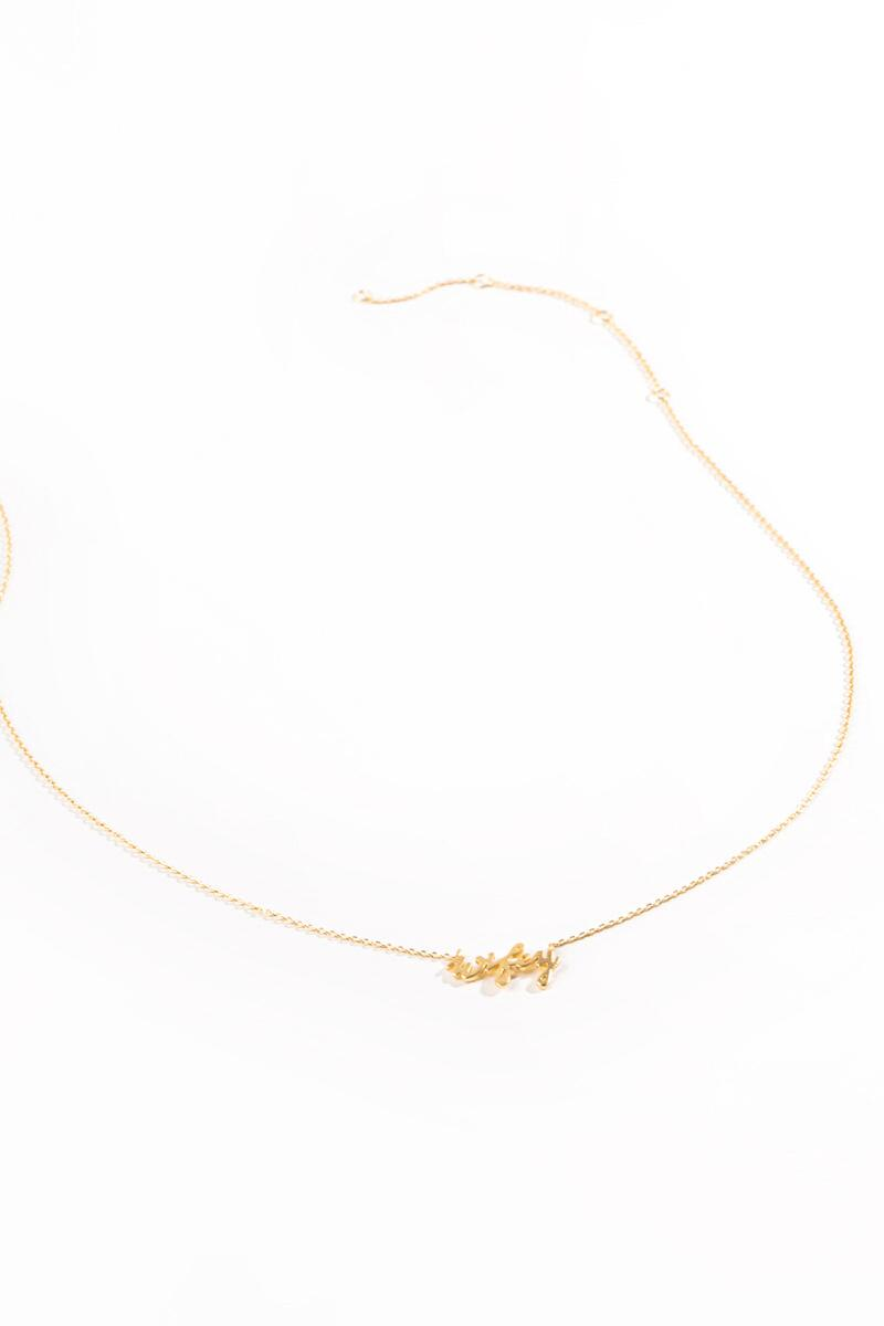 Wifey Necklace-Gold 2