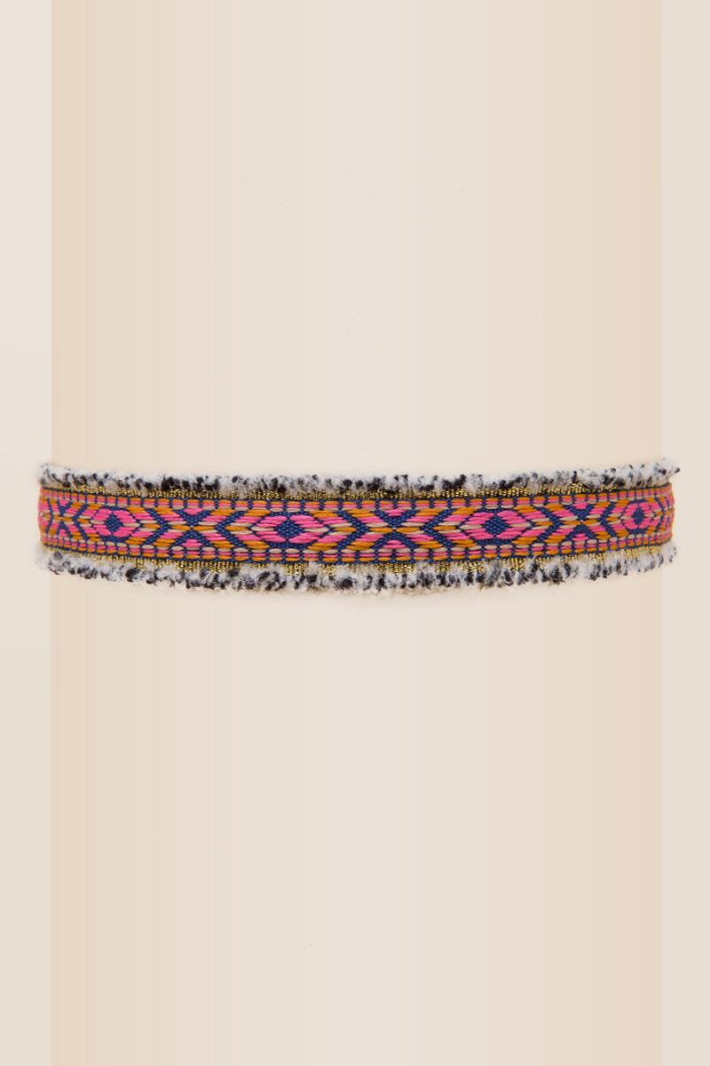 Dobrev Embroidered Choker