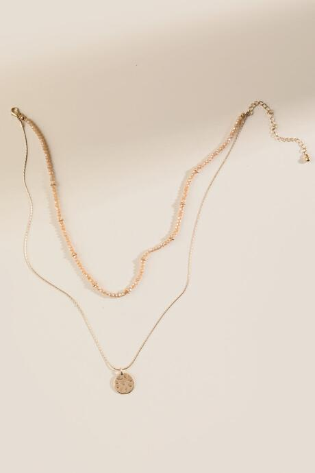 Angie Beaded Layered Necklace