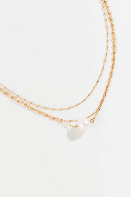 Summer Pearl Multi-Strand Necklace
