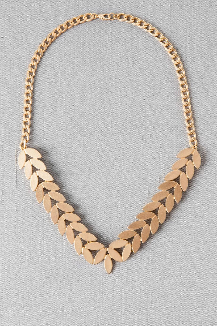 Athens Leaf Necklace