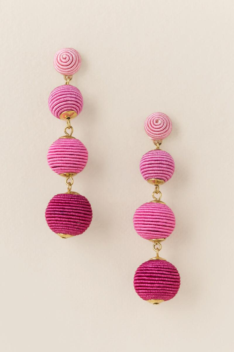 yellow com one pair dp spike dangle in gold earrings earring pink neon hook cuff amazon plating