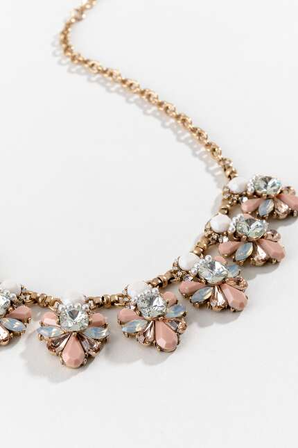 Vivienne Cluster Statement Necklace