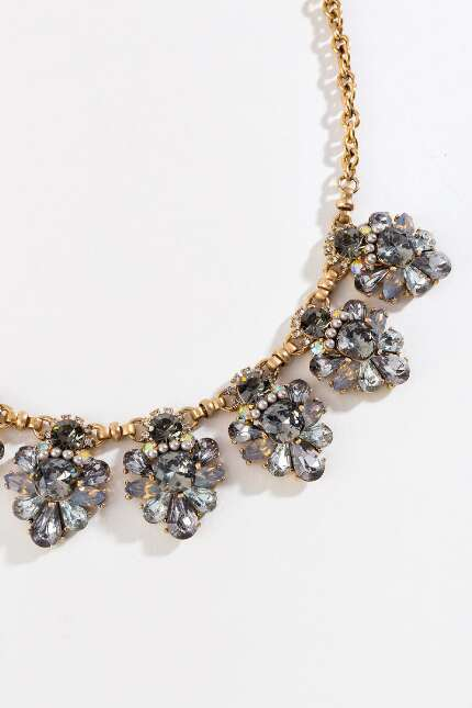 Sylvia Cluster Statement Necklace