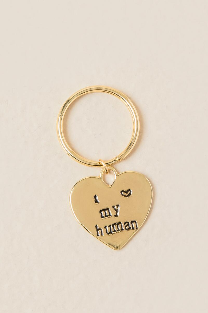 Dog and Human Friendship Set-  gold-clalternate