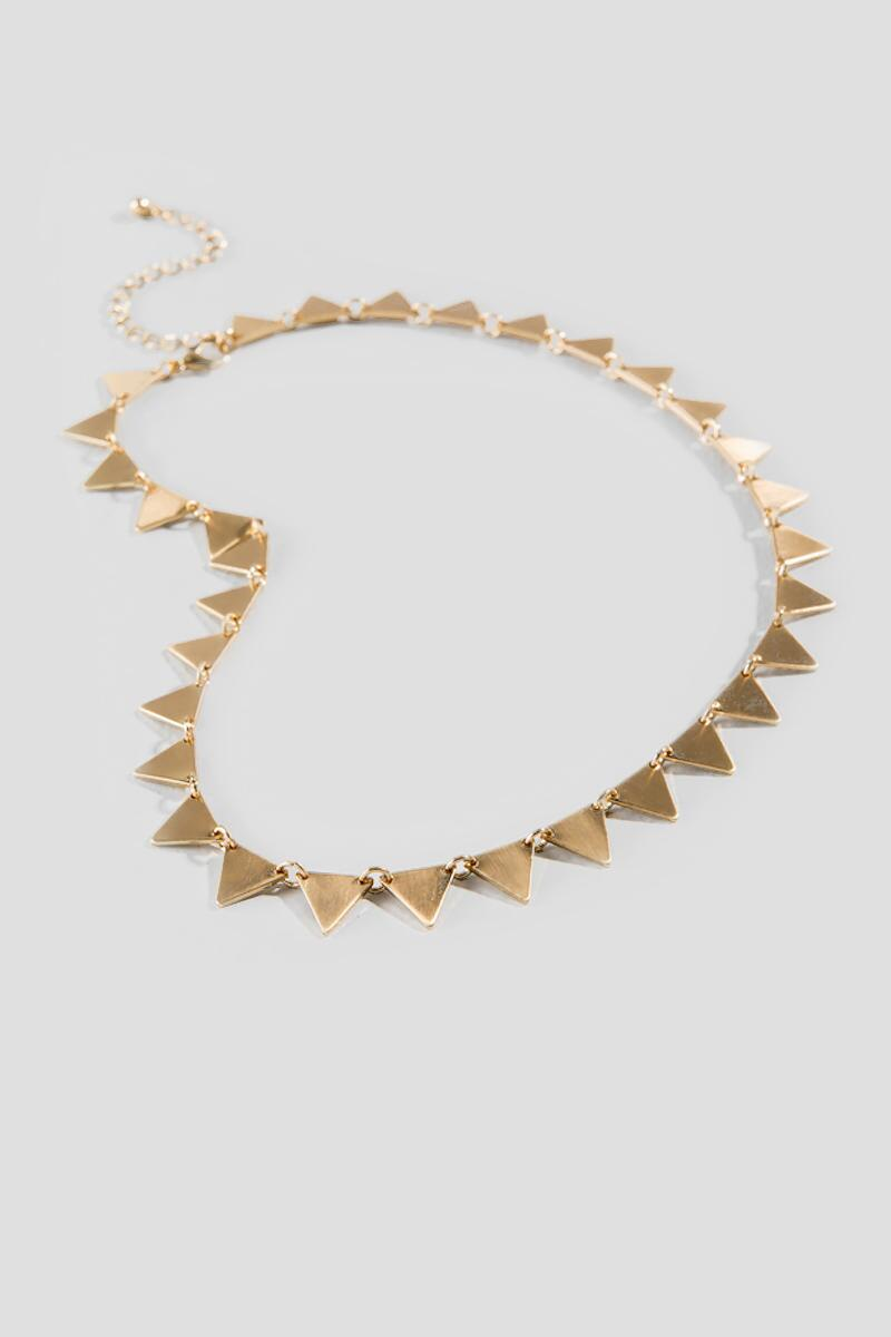 Leticia Triangle Strand Necklace-  gold-clalternate