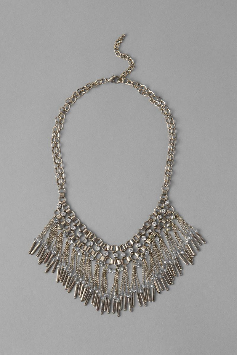 Alexandria Fringe Necklace-  cry-cl