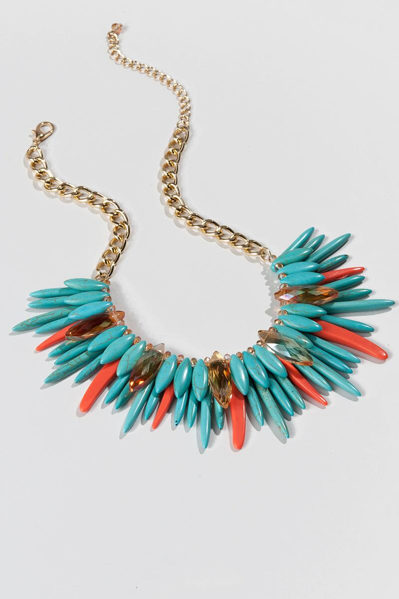 (SEPTEMBER MOS - DO NOT ACTIVATE!) Tampico Statement Necklace (SEPTEMBER MOS - DO NOT ACTIVATE!)