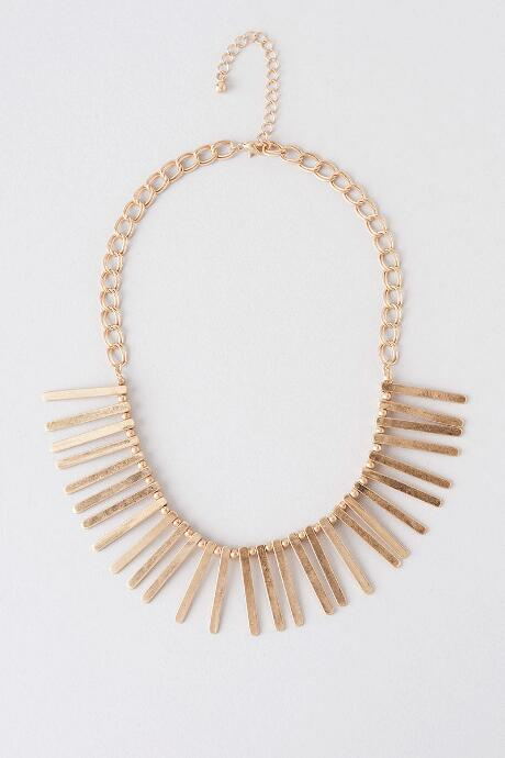 Santa Fe Fringe Necklace