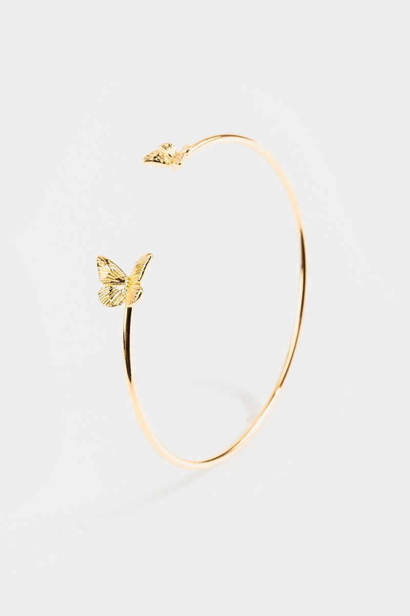 Emma Butterfly Cuff- Gold 3