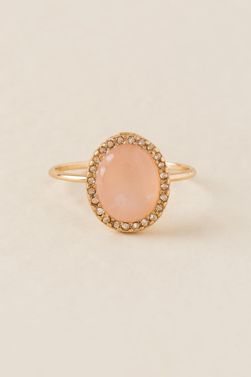 Julia Rose Quartz Ring