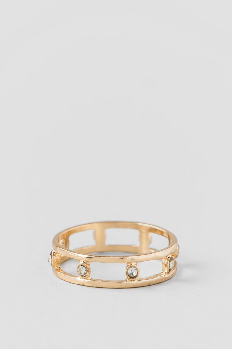 Lola Double Band Ring
