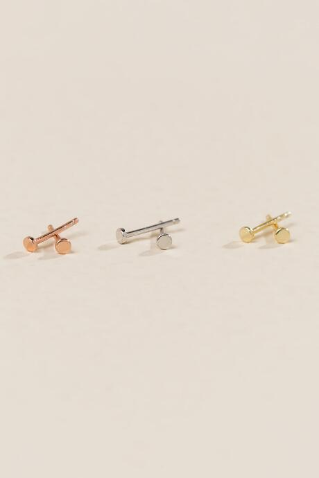 Dallas Delicate Metal Studs Set