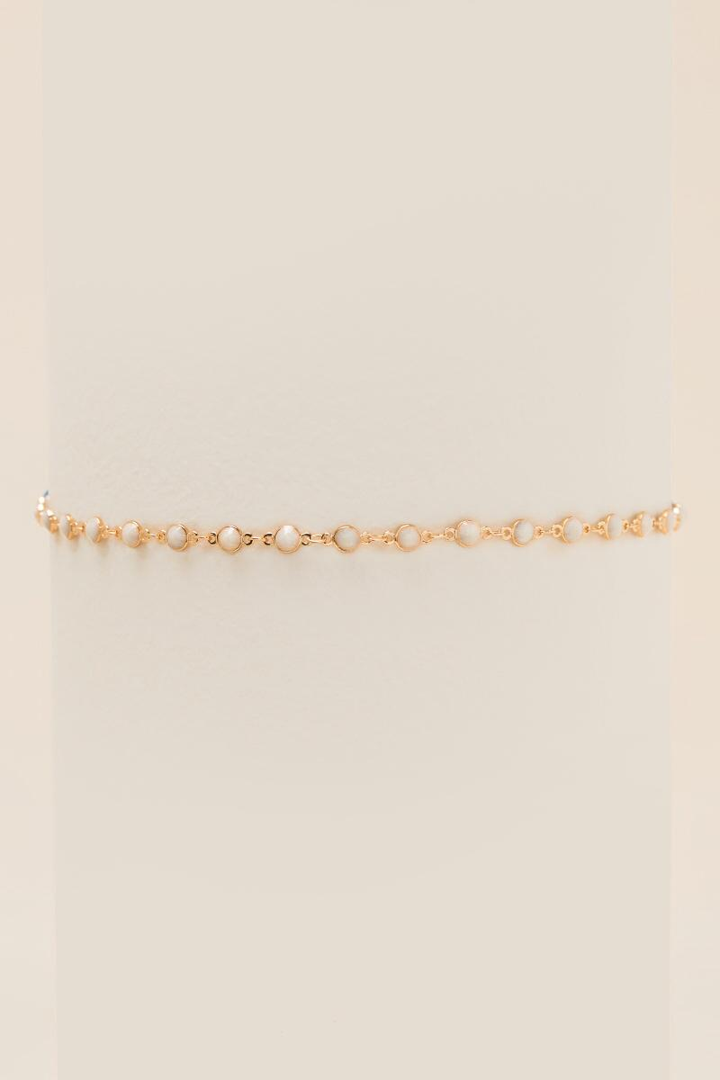 Eliana Linked Circles Choker