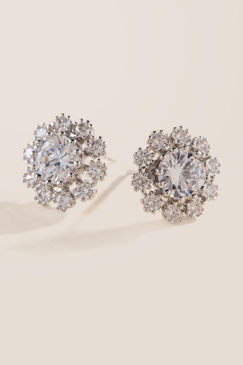 Janey Halo Stud Earrings