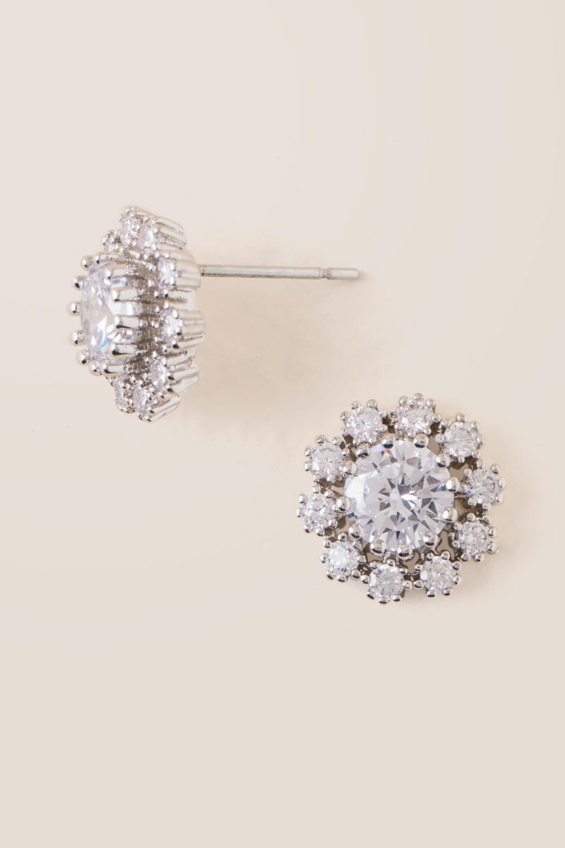 Janey Halo Stud Earrings-  cry-clalternate