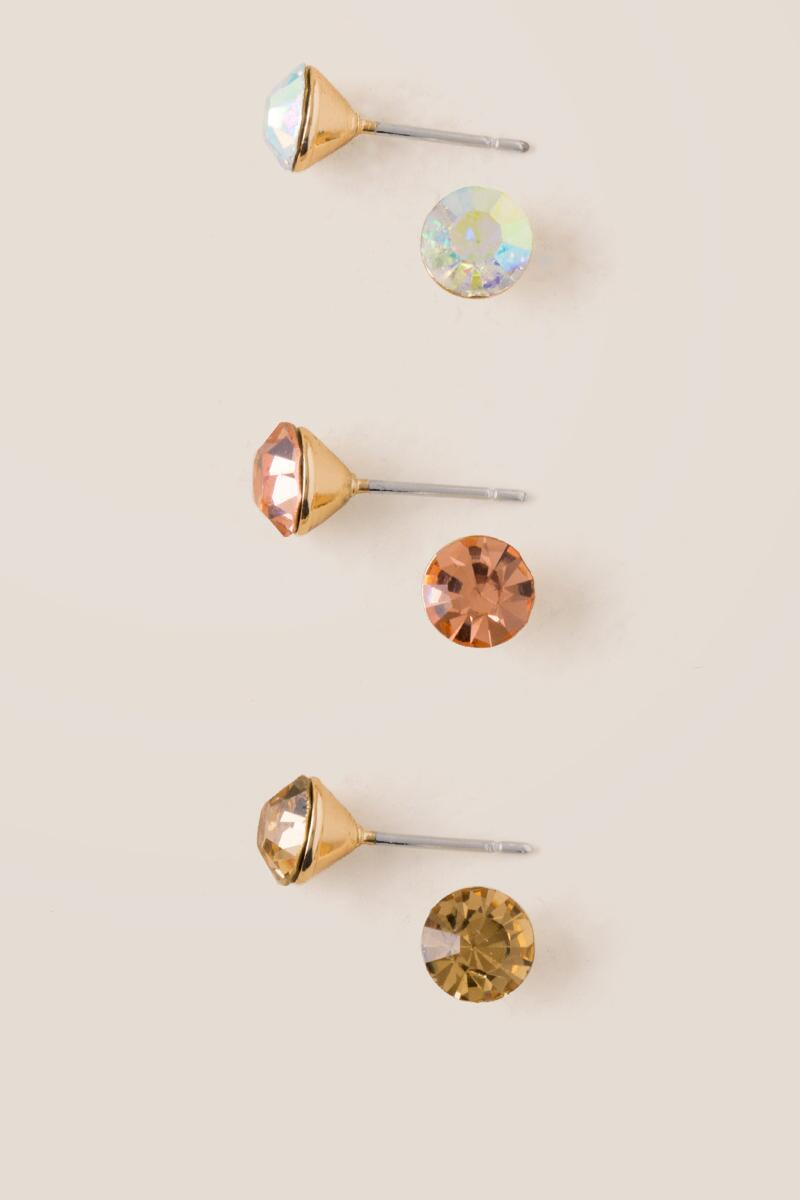 Accadia Metallic Stud Set