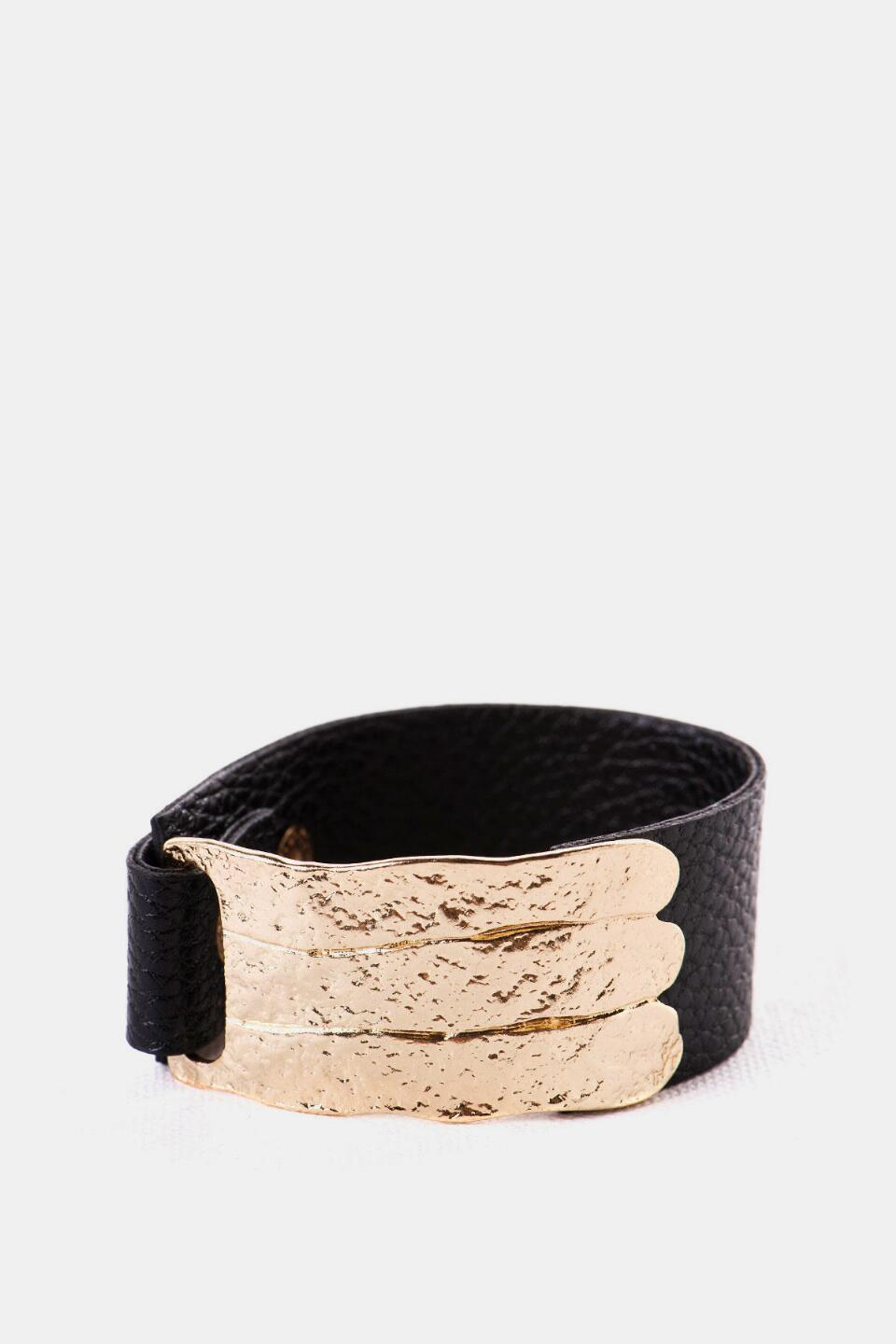 Bowery Metal Cuff-  blk-cl