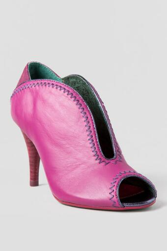 Poetic License Shoes, All or Nothing Bootie in Pink