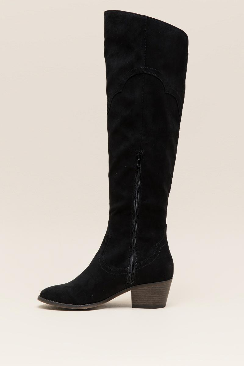 Fergalicious Bata Over the Knee Boot-  blk-clleft